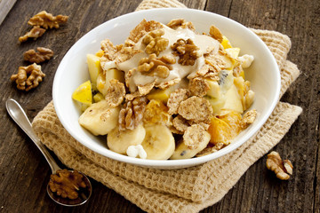Muesli healthy breakfast
