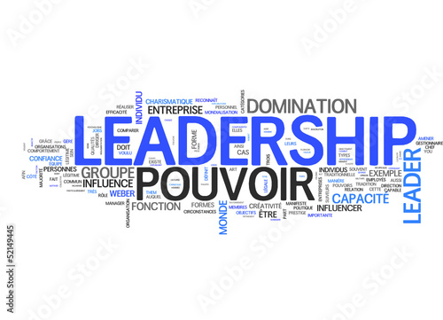 Leadership (tag cloud français)