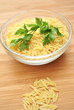 Dry Pastini Pasta with Italian Parsley