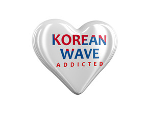 Korean Wave Heart