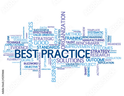 BEST PRACTICE Tag Cloud (business standards intelligence acumen)