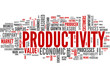 Productivity (english tag cloud)