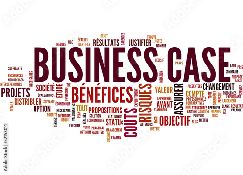 Business Case (tag cloud français)