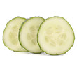 cucumber vegetable slices
