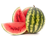 Fototapety Sliced ripe watermelon
