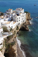 Sa Penya Distric in Ibiza Town, Spain
