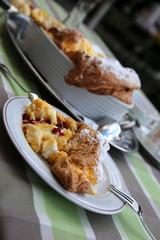 Salzburger Nockerln, Süßspeise Spezialität Dessert