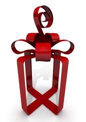 Упаковочная лента в форме подарочной коробки