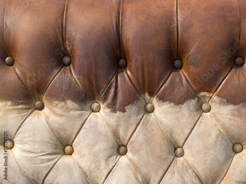 Texture of Dirty Brown Leather