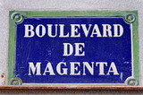 Boulevard de Magenta. poster