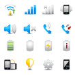 Icons set for mobile phone