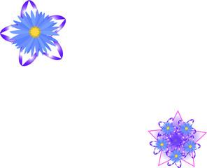 stella con fiore