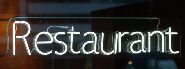 neon sign - Restaurant