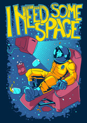 I need some space © Tshirt-Factory.com