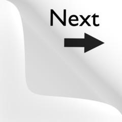 Paper corner peel