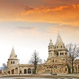Fishermens Bastion in the Castle Hill, Budapest, Hungary