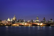 london night cityscape skyline uk