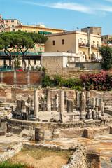 Pozzuoli Ruins in Town