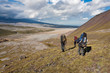 Trekking on Kamchatka.