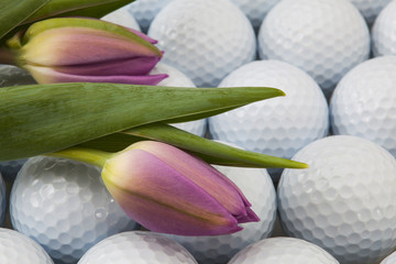 Golf and flowers