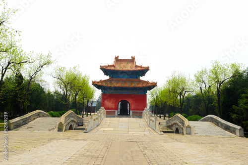 Beijing Ming Tombs Mausoleum