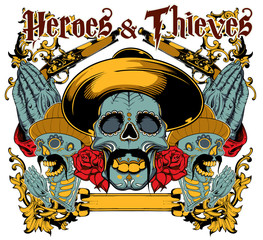 Heroes and thieves