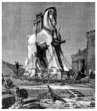 Trojan Horse - Greek Antiquity - Cheval de Troie poster