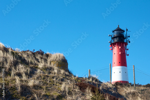 Lighthouse between dunes 1