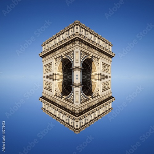 abstract view of Arc de Triomphe