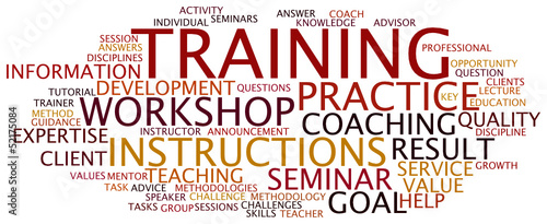 Tag Cloud Training