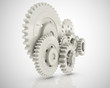 3D cogwheel mechanism