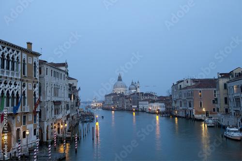 Santa Maria de la Salud (Gran Canal), Venecia. Italia.
