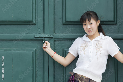 Asian Girl in Macau
