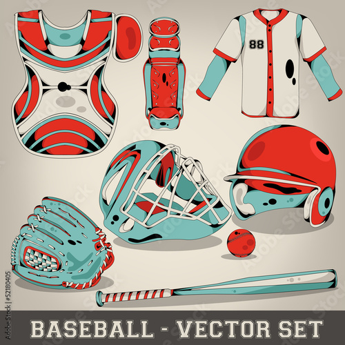 Baseball Vector Set