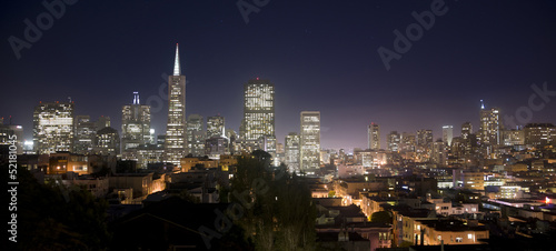 San Francisco California Skyline USA