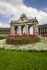 Brussels jubilee park arch