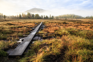 Kungsleden Wanderweg in Schweden