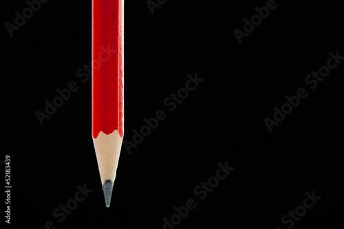 Single Red Pencil