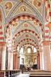 Sartirana Lomellina San Rocco Church colonnade color image