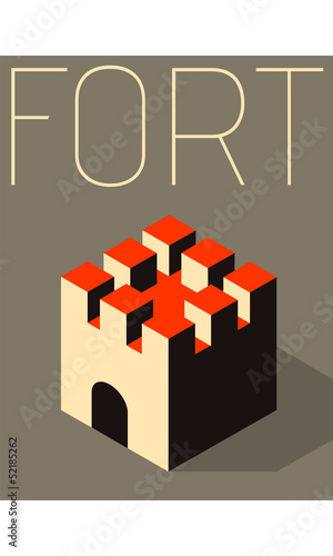 Vector Minimal Design - Fort