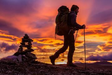 Wandertour vor Sonnenaufgang