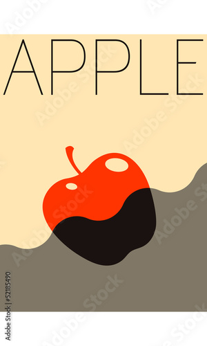 Vector Minimal Design - Apple © Fluidworkshop