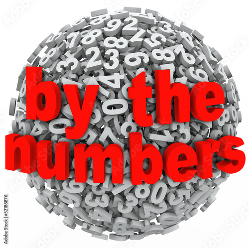 By the Numbers Data Number Sphere Research Intelligence Analysis