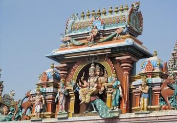 Mylapore, India: Kapaleeswarar Shaivist temple & godess Parvati
