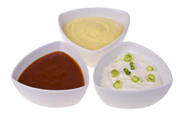 Fresh homemade sauces