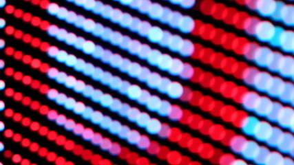 Red and blue LED