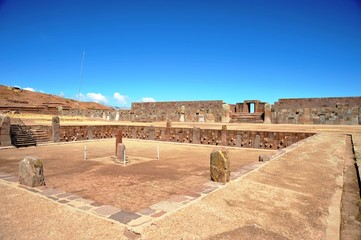 Tiwanaku.Bolivia
