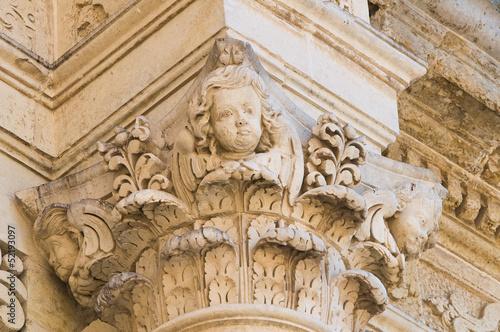 Duomo Church. Lecce. Puglia. Italy. © Mi.Ti.