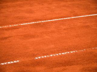 Tennis Platz Linien 116