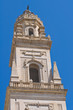 Belltower of Duomo Church. Lecce. Puglia. Italy.